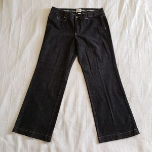 WHITE HOUSE BLACK MARKET Blanc Jeans Wide Leg 16